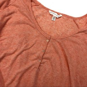 Victoria's Secret Intimates & Sleepwear - Victoria's Secret Angels Orange Pajama Top